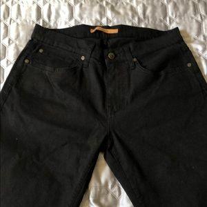 Woman's Joes Jeans Boot Cut Jet Black Jeans in 30